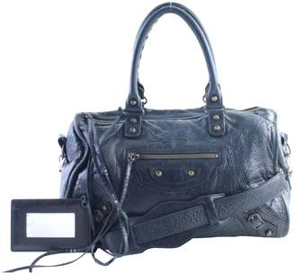 Balenciaga Leather travel bag