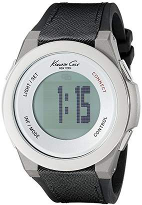 Kenneth Cole Unisex Adult Digital Watch with Textile Strap 10023867