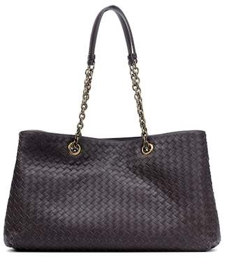 0b14005fdd Bottega Veneta Purple Shoulder Bags - ShopStyle