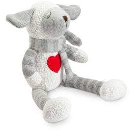 Elegant Baby Baby's Crochet Stuffed Knit Lamb