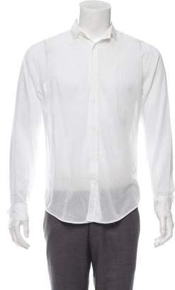 Christian Dior Sheer Button-Up Shirt