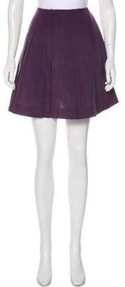 Marni Silk Pleated Skirt