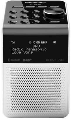 Panasonic NEW Portable Bluetooth Digital DAB+ Radio - White