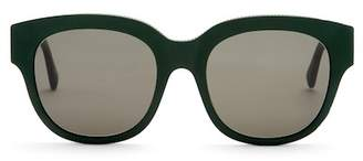 Stella McCartney Chain Trimmed Square Sunglasses