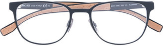 Boss Hugo Boss square frame glasses $282.77 thestylecure.com