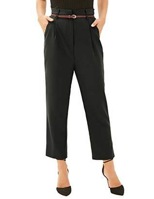 Women Pants Casual Elastic High Waist Trousers Pants