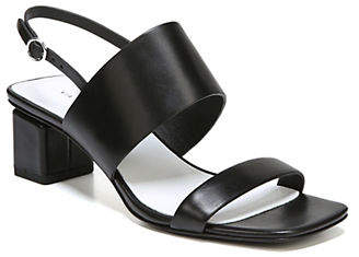 Via Spiga Forte City Sling-Back Leather Sandals