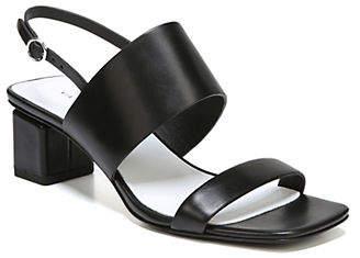 Via Spiga Forte City Sling-Back Leather Sandals
