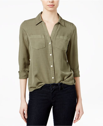 Maison Jules Chambray Shirt, Only at Macy's $59.50 thestylecure.com