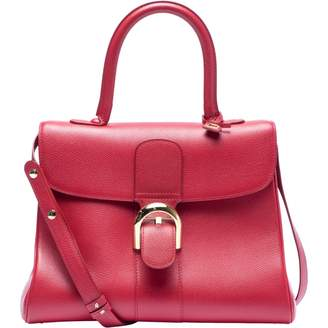 Delvaux Le Brillant Red Leather Handbags