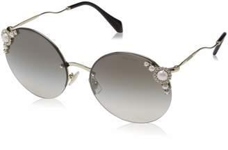 Miu Miu Ladies Sunglasses in