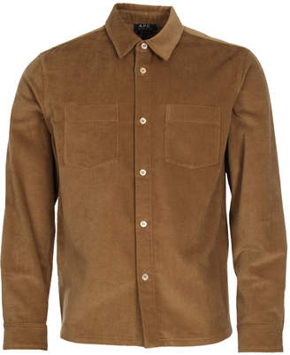 A.P.C. Overshirt Joe - Beige