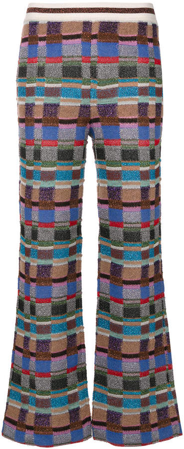 Missoni crochet-knit trousers