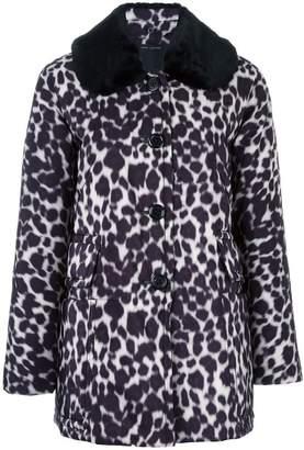 Marc Jacobs leopard print coat