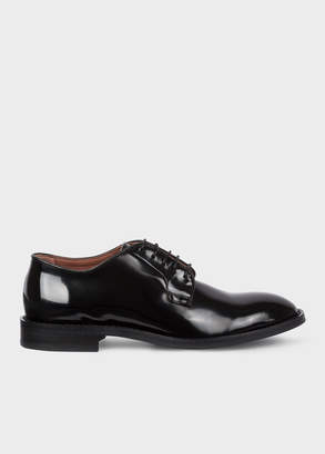 Paul Smith Women's Black Patent Leather 'Chester' Flexible Travel Shoes