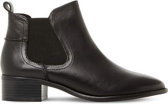 Steve Madden Ladies Black Timeless Dicey Sm Leather Chelsea Boots