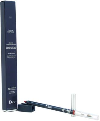 Christian Dior .04Oz Holiday Red Contour Lip Liner Pencil
