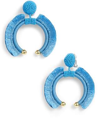 Sachin + Babi Eclipse Fringe Drop Earrings