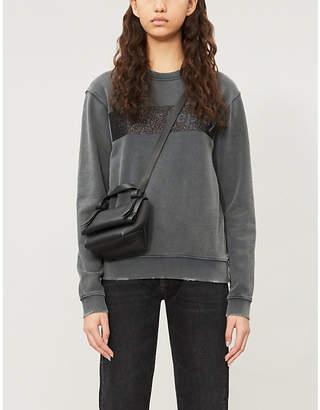 Replay Branded cotton-jersey sweatshirt