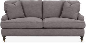Robin Bruce Brooke 2-Cushion Sofa - Charcoal Crypton