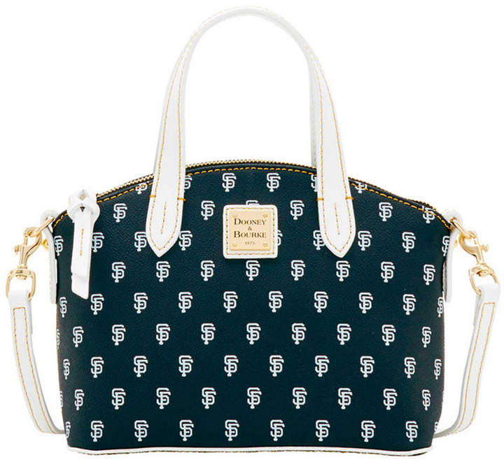 Dooney & Bourke San Francisco Giants Ruby Mini Crossbody Satchel - BLACK/WHITE - STYLE