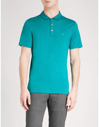 Michael Kors Sleek cotton-jersey polo shirt