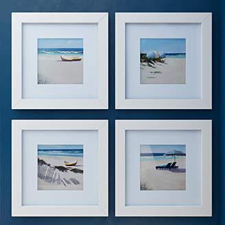 Beachcrest Home Umbrella Framed Photo Graphic Print Set on Paper