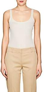 The Row Women's Linny Silk Jersey Tank - Ecru