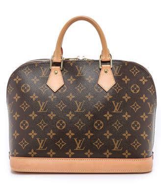 What Goes Around Comes Around Louis Vuitton Monogram Alma Bag $1,450 thestylecure.com