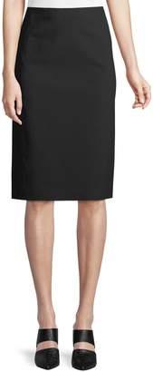 Vince Pull-On Ponte Pencil Skirt
