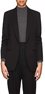 The Row Women's Naycene Wool One-Button Blazer - Black