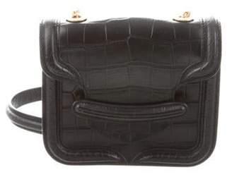 Alexander McQueen Mini Heroine Crossbody Bag Black Mini Heroine Crossbody Bag