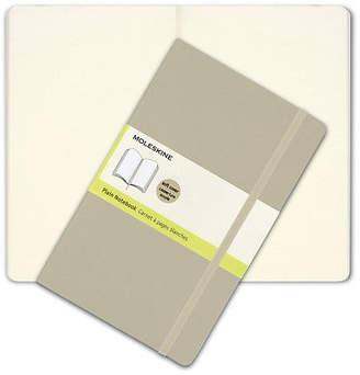 Moleskine NEW Classic Soft Cover Large Plain Notebook Khaki