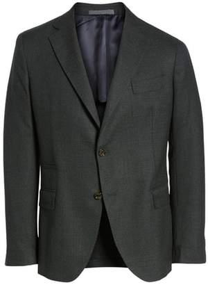 Eleventy Trim Fit Wool Blazer