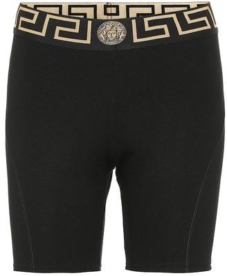 Versace Technical bike shorts