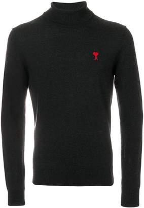 Ami Alexandre Mattiussi Ami De Coeur Turtle Neck Sweater