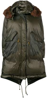 Sacai oversized down jacket