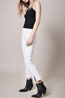 Smythe Stovepipe White Pant
