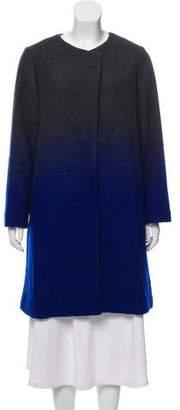 Armani Collezioni Ombré Wool-Blend Coat