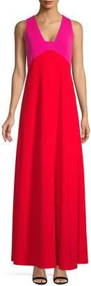 Karl Lagerfeld Paris Sleeveless Colourblock Gown