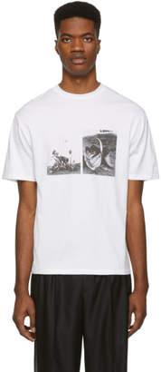 Christian Dada White Photo T-Shirt