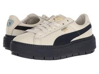 Puma Basket Platform Trace Block Women's Shoes