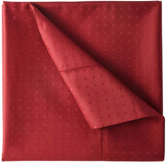 Royal Velvet 500tc Wrinkle-Free Damask Swiss Dot Sheet Set