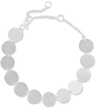 Saskia Diez - Paillettes Silver Bracelet - one size $160 thestylecure.com