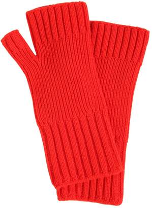 Ami Alexandre Mattiussi Wool Knit Gloves