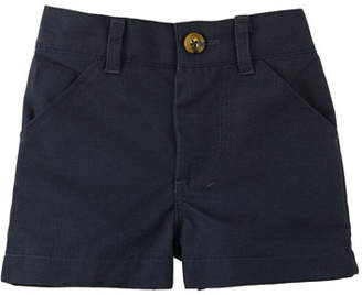 Andy & Evan Cotton-Stretch Twill Shorts, Size 3-24 Months
