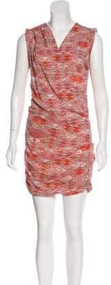 IRO Printed Silk Dress