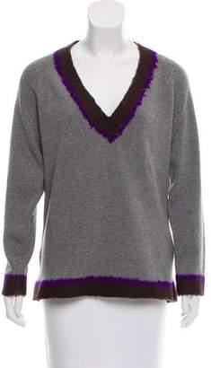 Aquilano Rimondi Aquilano.Rimondi Felted Wool-Cashmere Sweater