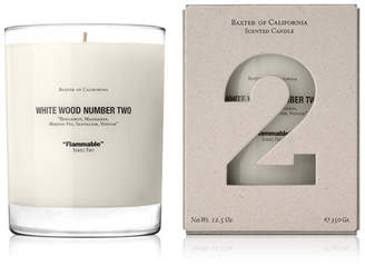 Baxter of California Scented Candle - White Wood Two 354g