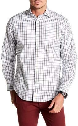 Thomas Dean Plaid Long Sleeve Shirt